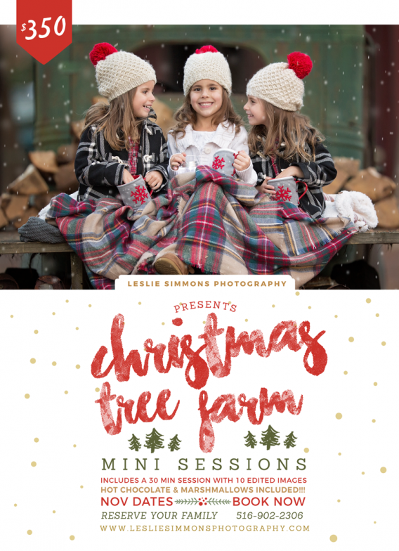 Christmas Tree Farm Mini Sessions.Long Island Family Photographer Christmas Tree Farm Mini